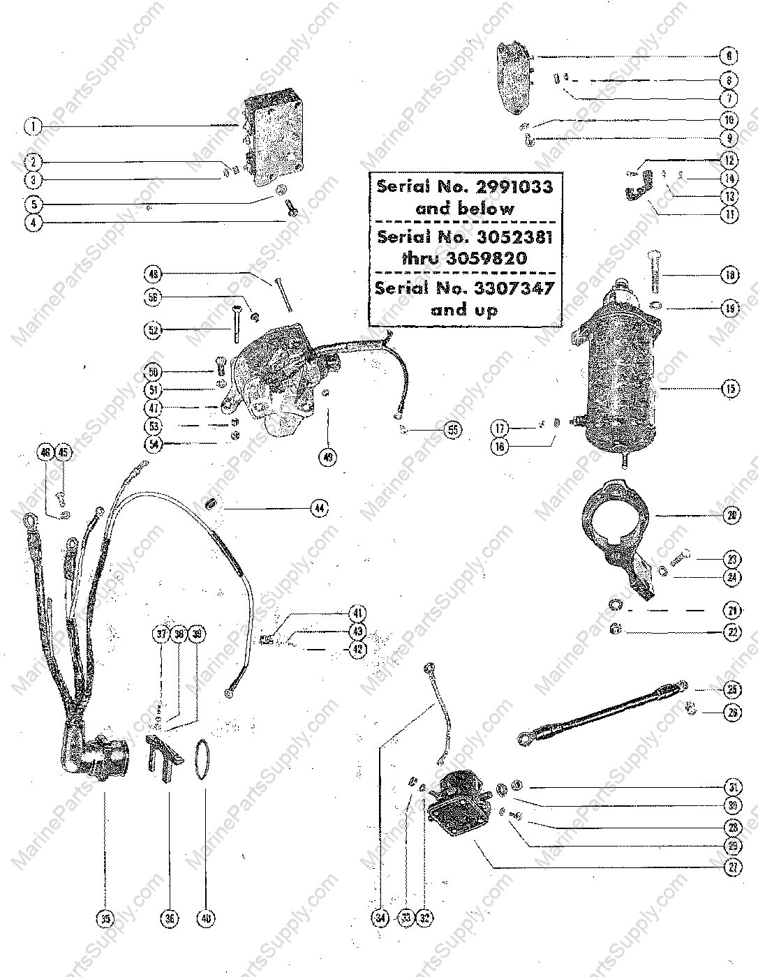 95 hp mercury outboard wiring diagram